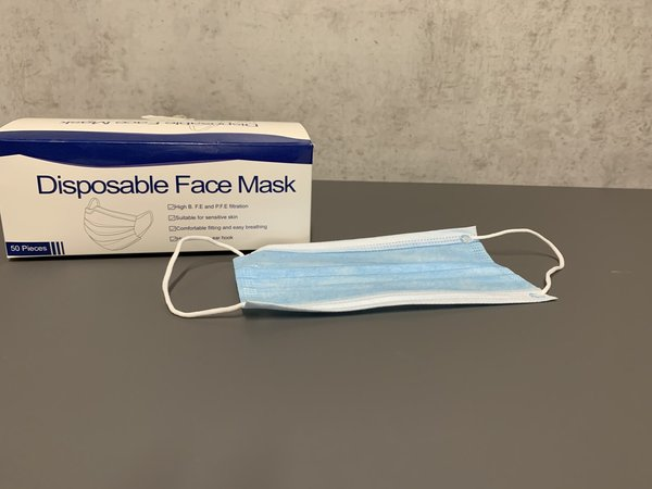 Disposable mask 3-layer (Item No.2410)