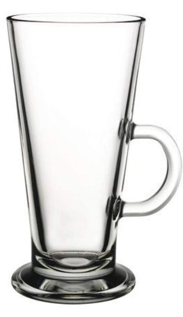 Colombian' Coffee Glass with Handle 0.36l Set of 6 Pasabahce (Item No.2680)